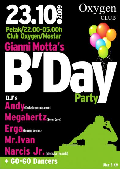 Gianni Motta Bday Party